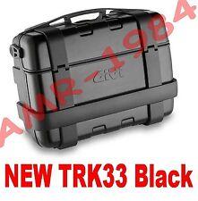 BAULETTO VALIGIA TREKKER TRK33 BLACK  TRK 33N TRK33  BAULE 33 Litri NERO