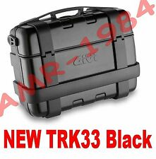 GIVI BAULETTO VALIGIA TREKKER TRK33 BLACK  TRK 33N TRK33  BAULE 33 Litri NERO