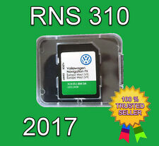 2017 VW SKODA SEAT RNS 310 AMUNDSEN V9 SD CARD FX WEST EUROPE NAVIGATION