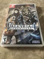 Valkyria 4 Chronicles Nintendo Switch - Fast Free Shipping