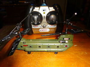 SYMA S026G 3.5CH Mini Chinook GYRO Remote Control RC Helicopter