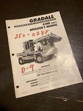 Gradall G3wd Series E Hydraulic Excavator Operators Manual Guide Shop Book