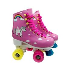 Children Fairy Pink 4 Wheeled For Skates For Beginners