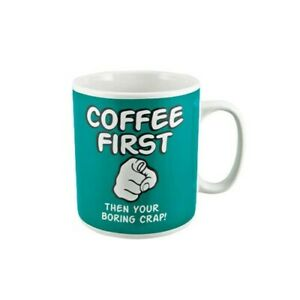 Printed Ceramic White Sublimation Coffee First Giant Coffee Mug Cup Hot Water