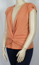 Rockmans Polyester Cap Sleeve Machine Washable Tops & Blouses for Women