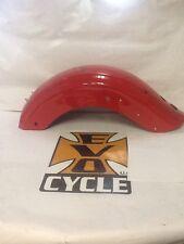 2010 Harley-Davidson FLHX Street Glide Rear Fender Scarlet Red Cy4