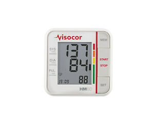 New Model: Visocor Hm 60 Wrist Blood Pressure Monitor - Nip From Med. Fh