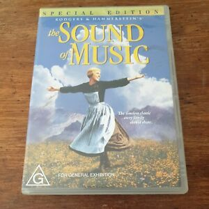 The Sound of Music Special Edition DVD R4 Like New! FREE POST