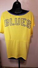 St. Louis Blues BlueNote Women's Large yellow T-shirt