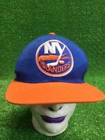 Vintage Ny islanders Hockey NHL strapback Reebok HAT CAP fast free shipping