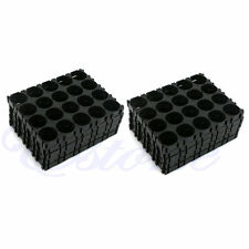 10X/Set 18650 Battery 4x5 Cell Spacer Radiating Shell Pack Plastic Heat Holder