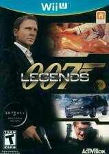 007 Legends [Nintendo Wii U James Bond Spy Action Shooter Skyfall Activision]
