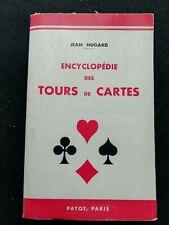 Magie - Encyclopédie des tours de cartes - Livre de référence - Prestidigitation
