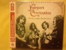 FAIRPORT.  CONVENTION.     WHO. KNOWS. WHERE THE. TIME. GOES. ?     THREE DISCS.