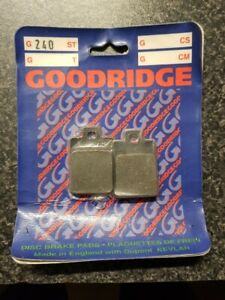 GOODRIDGE G240 BRAKE PADS EBC NO FA255