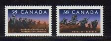 1989 Canada SC# 1249-1250 - Canadian Infantry Regiments Lot# 205 M-NH