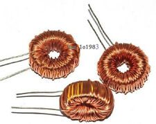 10Pcs Toroid Core Inductors Wire Wind Wound for DIY mah--100uH 6A Coil