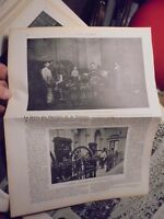 1905 La Vie Illustrée:Grève des Ouvriers de La Monnaie de Paris