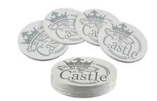 Untersetzer Getränkeuntersetzer Holzuntersetzter My home is my castle 12 Stück