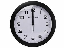 Precision Radio Controlled Wall Clock  SILVER,BLACK,WHITE, 2 years guarantee