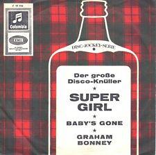"""7"""" Graham Bonney – Super Girl // Germany 1966"""
