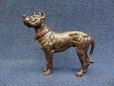 ANTIQUE VIENNA BRONZE SCULPTURE OF  A GREAT DANE GERMAN DOGUE DEUTSCHE DOGUE