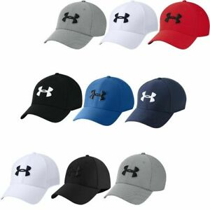 Mens Under Armour Blitzing 3.0 Breathable Lightweight Golf Baseball Stretch Cap