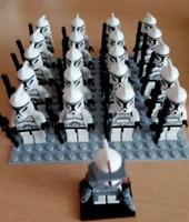 21 Pcs Star Wars Minifigures Clone Trooper Commander Captain Storm Lego MOC