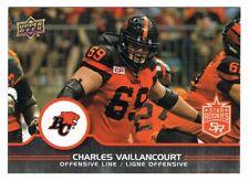 2016 UPPER DECK CFL STAR ROOKIES UPDATE #R3 Charles Vaillancourt