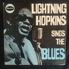 Lightnin' Hopkins | Lightning Sings The Blues | UK Mono Vinyl LP | VG