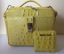 Brahmin Leather Sunflower Melbourne Evie Crossbody Shoulder Bag Purse