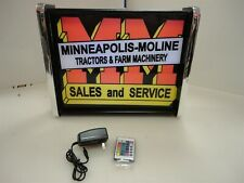 Minneapolis Moline Sales Service LED Display light sign box