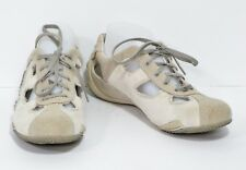 MERRELL Relay Skip Oyster Grey Summer Cut out Fashion Shoes Women's 8.5 US EUC