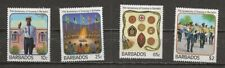 Barbados, Scott 706-09 Scouting complete set MH