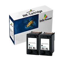 2 Black NON-OEM Ink Cartridge For HP 21XL Deskjet F370 F378 F380 F385 F3655 F390