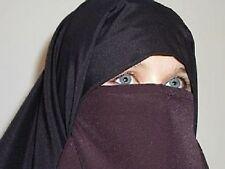 Niqab Nikab Islam Hijab Abaya Jilbab Face Veil Bride BN