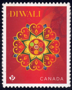 2021 Canada SC# - Diwali - Festival of Lights - from booklet - M-NH
