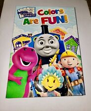 Barney Colors Are Fun DVD  Kipper, Fireman Sam, Thomas & Friends, Bob Builder,