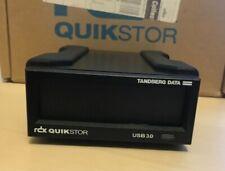 More details for tandberg data rdx quickstor external usb 3 tape drive plus 1tb cartridge