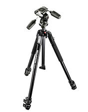 Manfrotto 190X 3-section Tripod + 804RC2 3 Way Head Kit & FREE VBAG80P