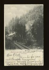 Germany Parthie aus dem Rabenauergrund Railway1901 u/b PPC