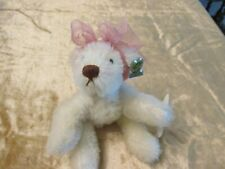 ANNETTE FUNICELLO MOHAIR BEAR-WITH ALL TAGS-NEVER USED-NO BOX