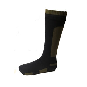 SealSkinz Waterproof Knee Length Combat Socks - Black