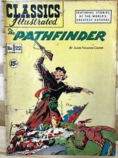 CLASSICS ILLUSTRATED #22 The Pathfinder by James Fenimore Cooper (HRN 118) G/VG