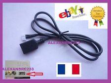 Cable USB autoRadio Peugeot 207 307 308 407 Citroen C2 C3 C4 RD9 RD43 RD45 NEUF