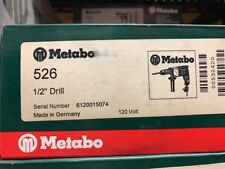 "Metabo 1/2"" Drill 526"