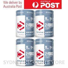 BULK SALE! Dymatize Nutrition Z Force ZMA Magnesium & Zinc 90 Caps x 4 bottles