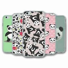 For iPhone 6 6S Silicone Case Cover Panda Collection 4