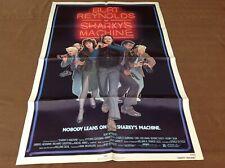1981 Sharky's Machine Original Movie House Full Sheet Poster