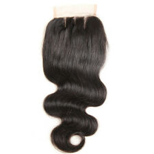 Brazilian Lace Hair Closure Middle Free Brazillian Lace Closure Three Part #HA2